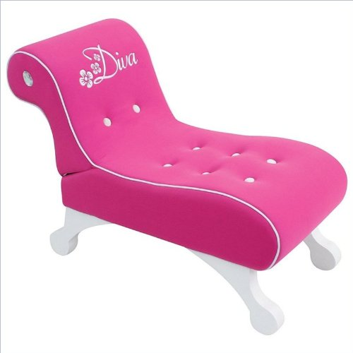 Diva Pink Chaise Lounge back-924651