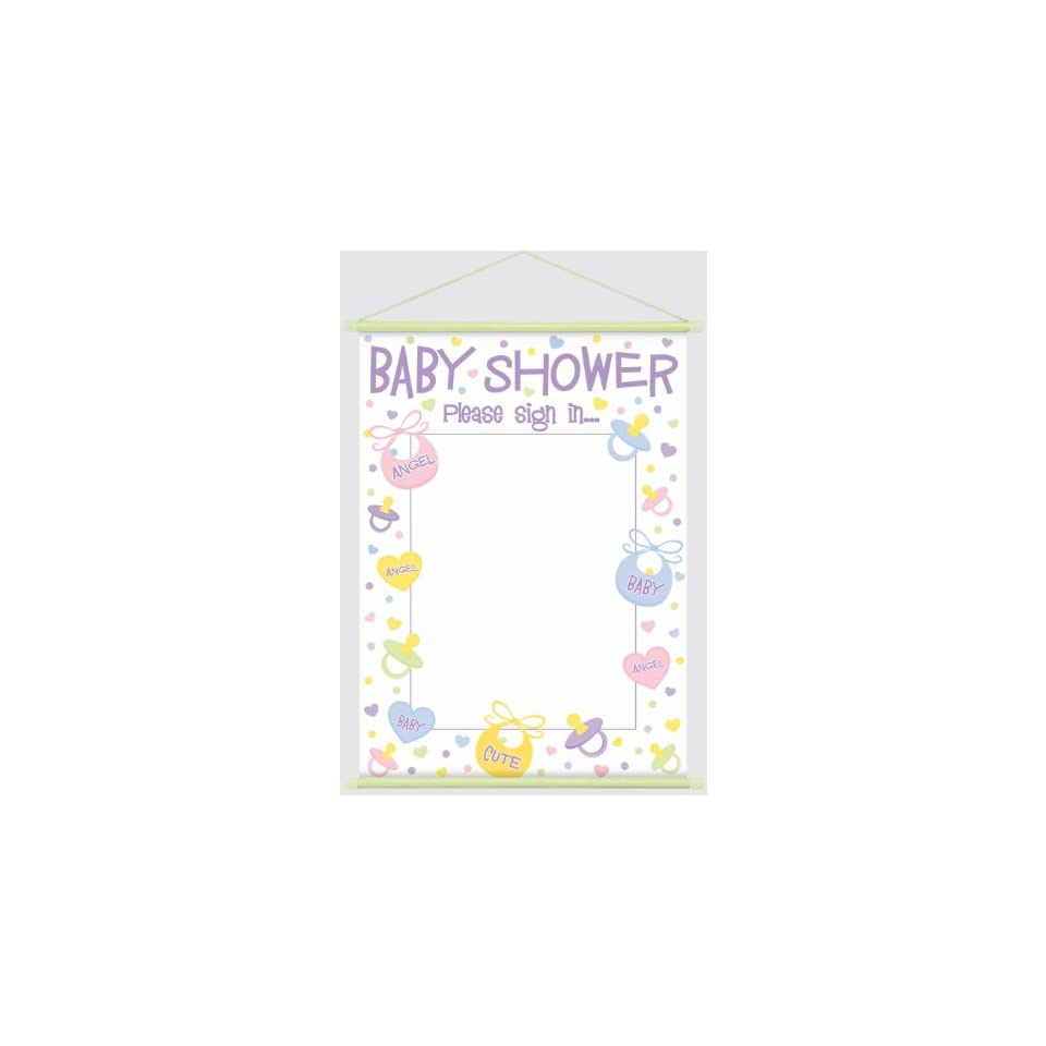 sign in sheet for baby shower