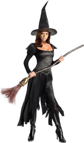 Rubies Large Black Licensed Women's Wizard of Oz Wicked Witch of West Costume