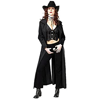 Amazon.com: Sexy Adult Gunslinger Costume (Size:X-small 2
