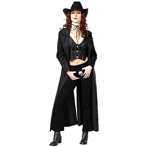 Sexy Adult Gunslinger Costume (Size:X-small 2-4)