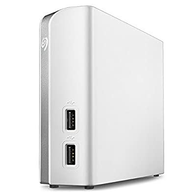 Seagate Backup Plus Hub for Mac 8TB External Desktop Hard Drive STEM8000400