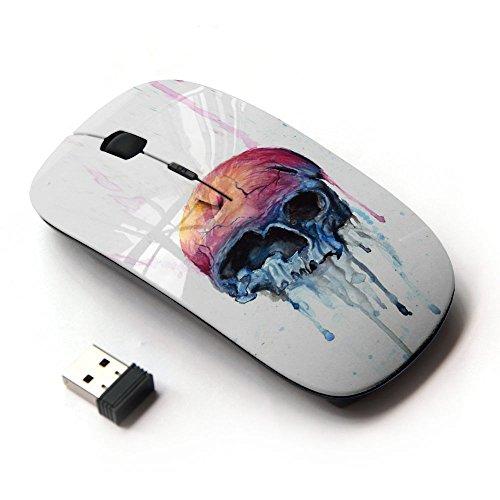 KOOLmouse [ Mouse Senza Fili Ottico 2.4G ] [ Melting Apple Skull ]
