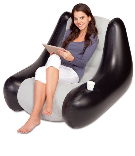 bestway-inflatable-blow-up-waterproof-gaming-camping-lounge-chair-sofa-bean-bag-seat