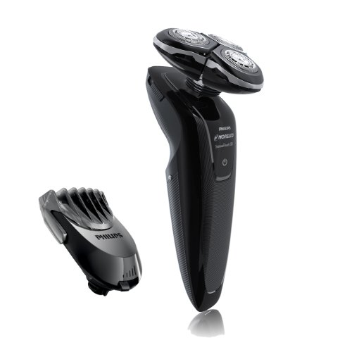 Philips Norelco 1250X/40Hp Sensotouch 3D Electric Razor With Bonus Rq111 Click-On Beard Styler And Precision Trimmer