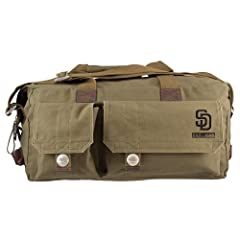 San Diego Padres MLB Prospect Deluxe Weekender Bag by Little Earth