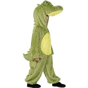 Générique - 351252 - Déguisement Crocodile Enfant - 4 À 6 Ans