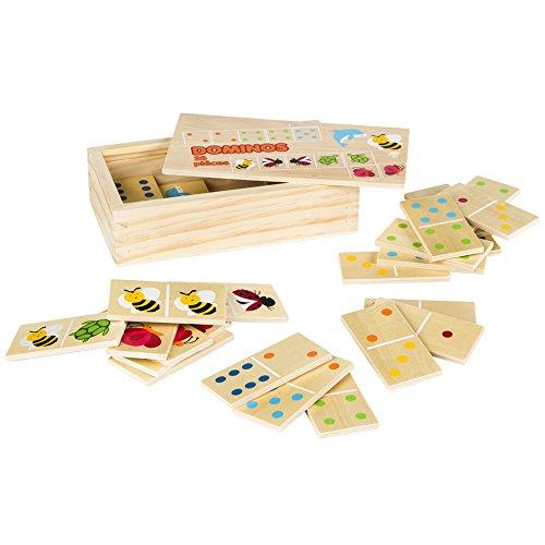ColorBaby - Dominó madera 28 piezas (42147)