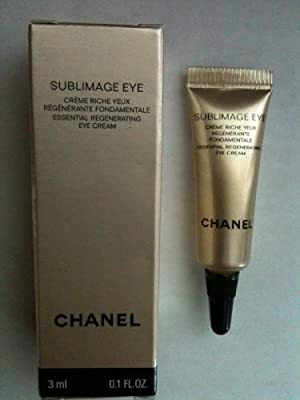 Cheapest Chanel Sublimage Essential Regenerating Eye Cream .1oz 3ml Sample Size by Chanel - Free Shipping Available