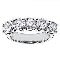 1.60 CT TW Brilliant Cut Diamond Wedd…