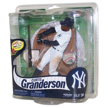 MLB New York Yankees McFarlane 2012 Series 30 Curtis Granderson (2) Action Figure - 1