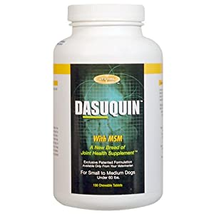 Nutramax Dasuquin with MSM for Large Dogs, 150 Tablets