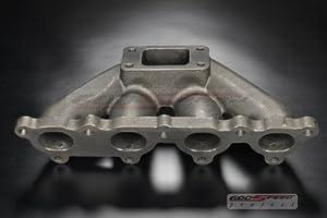Godspeed Civic CRX D15 D16 T3 T3t4 Flange Cast Turbo Manifold Will Fit All Turbonetics / Godspeed / Garrett / KKK / Cxracing / Precision Turbo