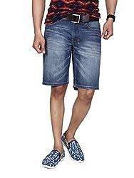 Hammock Solid Mens Denim Shorts(H21G49J50834)