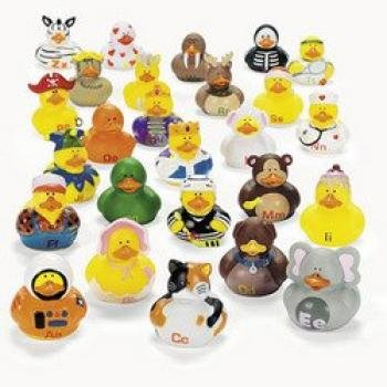 ABC'S Rubber Duckies (26 PIECES)