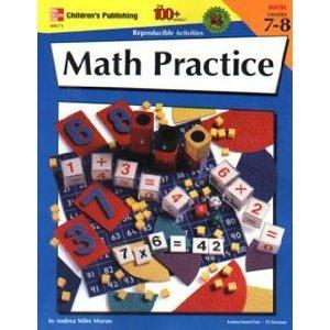 MATH PRACTICE GR. 7-8 100+