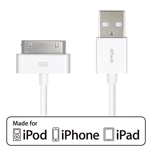 iPhone 4s Cable, JETech USB Sync and Charging Cable for iPhone 4/4s, iPhone 3G/3GS, iPad 1/2/3, iPod - 3.2 Feet 1 Meter - 0156 (Automotive compare prices)