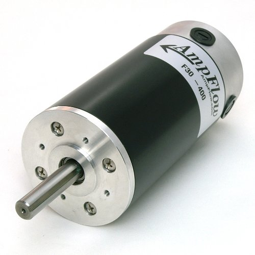 Ampflow F30-400 Brushed Electric Motor, 12V, 24V, Or 36V Dc, 4800 Rpm