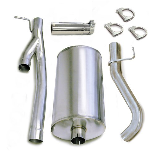 Flowmaster 13524320 Slimline 3.5 Inlet x 3.5 Outlet Muffler with Moderate Sound