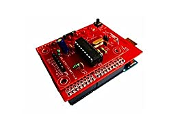 DTMF Decoder shield for arduino DTMF signal either from an audio source or phone