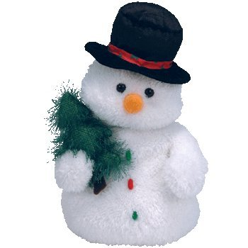 Ty Classic Mr. Flurries - Snowman - 1