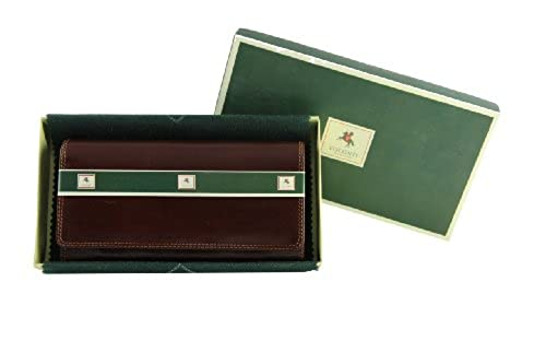06. Visconti Monza 10 Ladies Large Soft Leather Checkbook Wallet / Purse