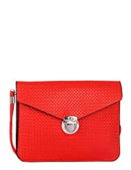 Alessia74 Women's Sling Bag Red (PBG362D)