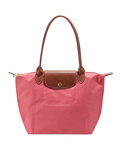 Longchamp discount duty free Longchamp Paris Le Pliage Medium Shoulder Tote Pink