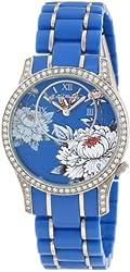 Ed Hardy Women's JA-BL Jasmine Blue Watch