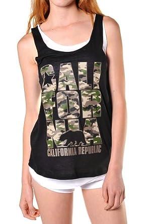 beachcoco s army print california republic layered