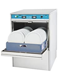 Jet-Tech Systems F-18DP Stainless Steel 304 Undercounter High Temperature Dishwasher by Jet-Tech+Systems