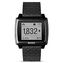 MyBasis 900-00024-01 Advanced Fitness and Sleep Tracker Basis Peak Matte Black