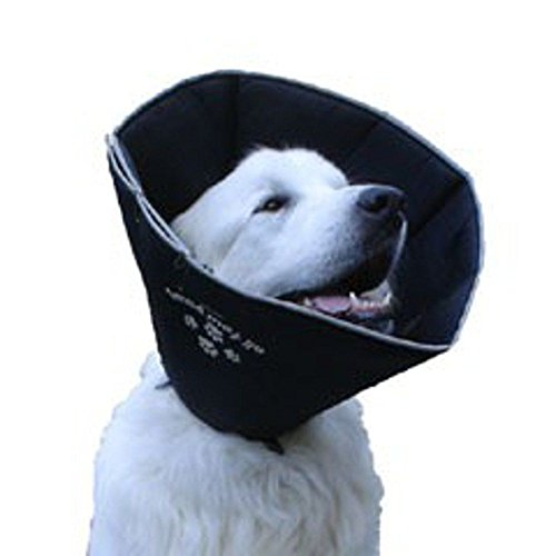New Comfy Cone Small Pet E-Collar, Black (Dog Comfy Cone Small compare prices)
