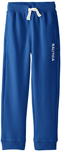 Nautica Little Boys' Fleece Pants 2, Blue, Medium