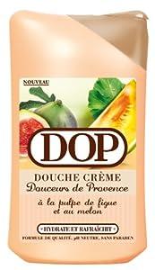 DOP Douche Douceurs de Provence Pulpe de Melon et Figue Lot de 3 x 250 ml
