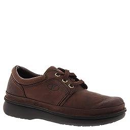 Propet Men\'s Village Walker Lace Oxford 9 D(M) US Brown