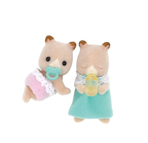 Twins -06 system of Sylvanian Families doll hamster by Epoch - 1