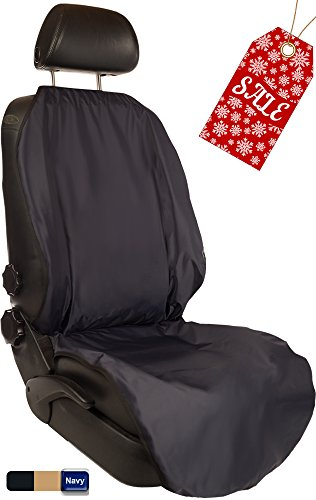 CleanRide™: Bacteria-Resistant, 100% Waterproof Car Seat Cover: Triathlon Beach Yoga Running Crossfit Sweat Workout (Odor-Resistant and Super-Compact) (Happeseat Car Seat Cover compare prices)