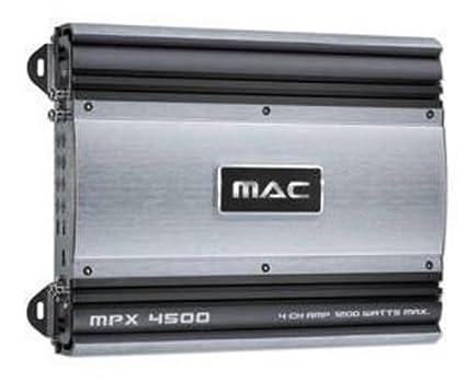 Mac Audio MPX 4500 Amplificateur auto (Import Allemagne)