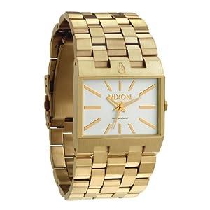 Nixon Ticket Watch - Men's All Gold/White, One Size