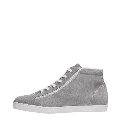Bikkembergs BKE107767 Sneakers Uomo Scamosciato Grey Grey 43
