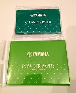 YAMAHA PP3 + CP3  ヤマハ パウダーペーパー & クリーニングペーパー