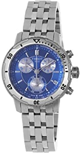 Tissot PRS 200 Chronograph Blue Dial Quartz Sport Mens Watch T0674171104100