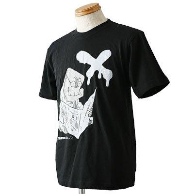 水木しげるTシャツコレクション NO.2 地獄の新聞を読む死神 S