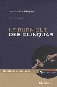 Le burn-out des quinquas par Jean-Émile Vanderheyden