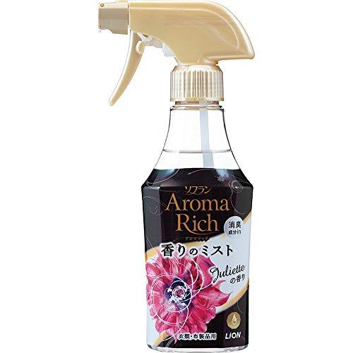 ソフランアロマリッチ香りのミスト 消臭・芳香剤 ジュリエット(スイートフローラルアロマの香り) 本体 280ml