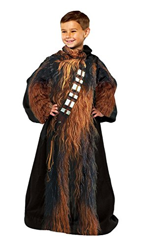 Lucas Films' Star Wars, Being Chewbacca Youth Fleece Comfy Throw by The Northwest Company, 48