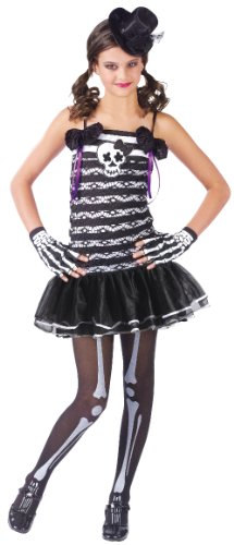 Skeleton Sweetie Costume Size Large 12-14- 110692