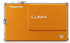 Panasonic Lumix DMC-FP1 12.1 MP Digital Camera with 4x Optical Image Stabilized Zoom and 2.7-Inch LCD (Orange)