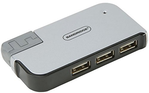 Bandridge 4-Port USB 2.0 Hub for Notebooks
